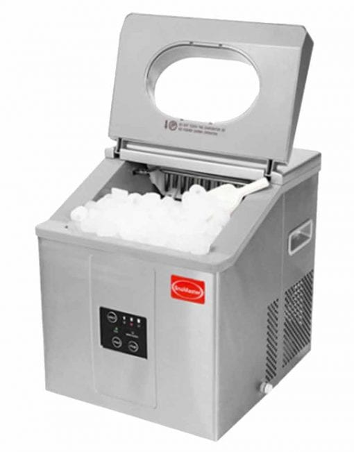 SnoMaster Ice Maker open with ice