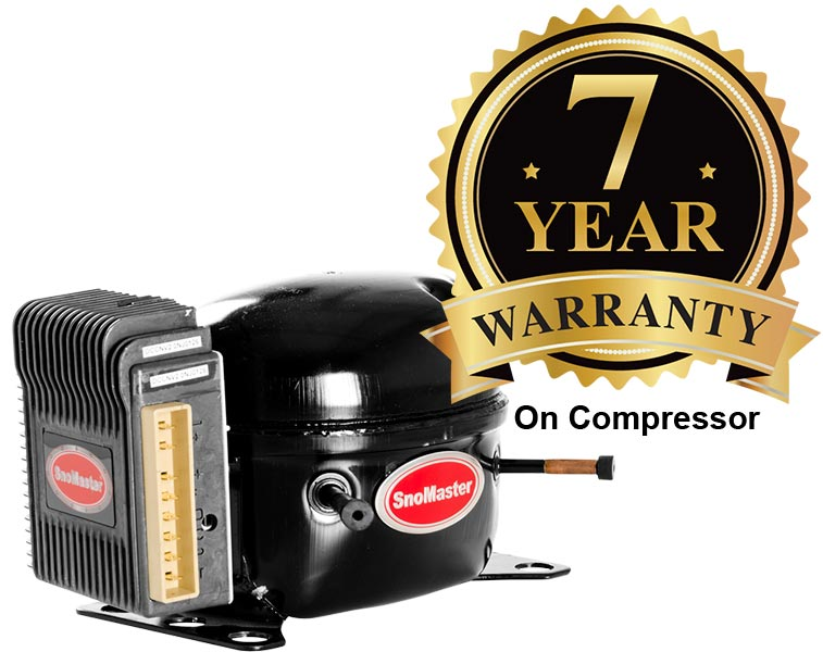 SnoMaster 66W Compressor with 5 Year Warranty